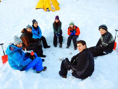 Grade 10 Ex Ed Telemark Ski Camping Trip