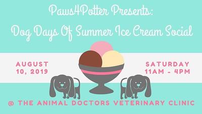 Dog Days Of Summer Ice Cream Social