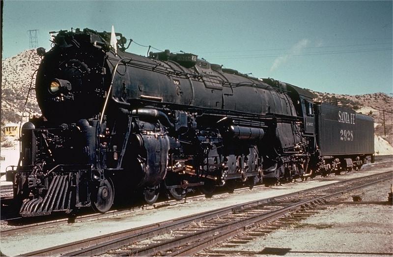 Santa Fe 2928 Steam Engine