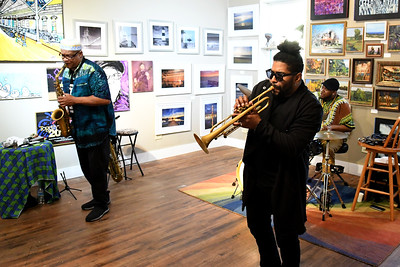 Ernest Dawkins New Horizons Trio at Artlore Studio