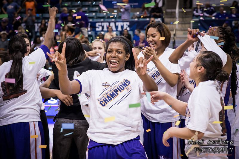03-16-2014 - 2014 Southland Conference Championships - Girls Basketball Finals - Northwestern vs SFA