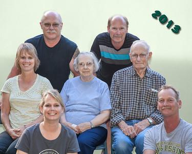 Yuhas Family 2013
