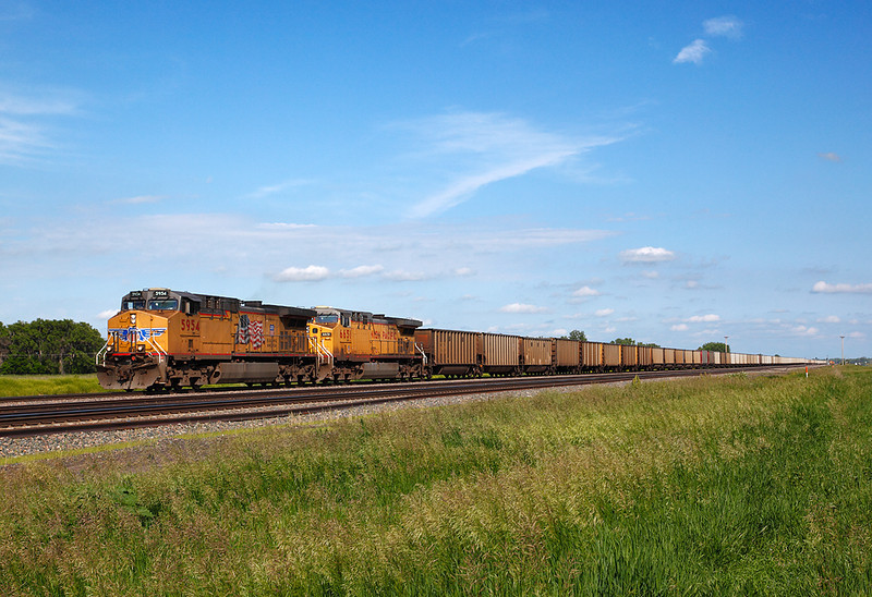 Union Pacific 5954 (GE AC44CCTE) - North Platte, NE