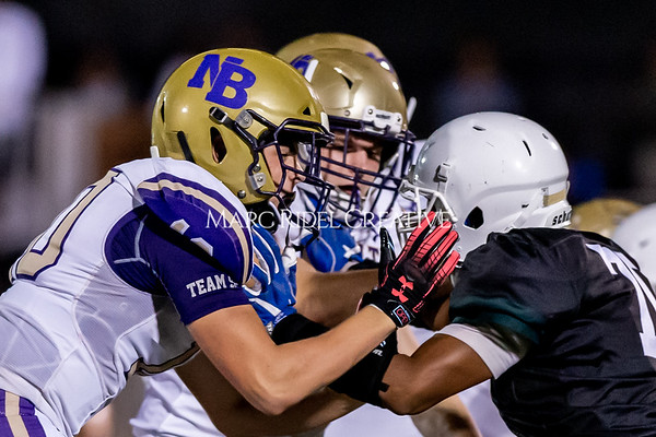 Broughton Varsity football at Southeast Raleigh. October 4, 2019. D4S_5453