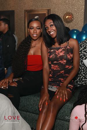 Friday October 23, 2020 Atlanta Ga at Rose Bar #LoveFridays