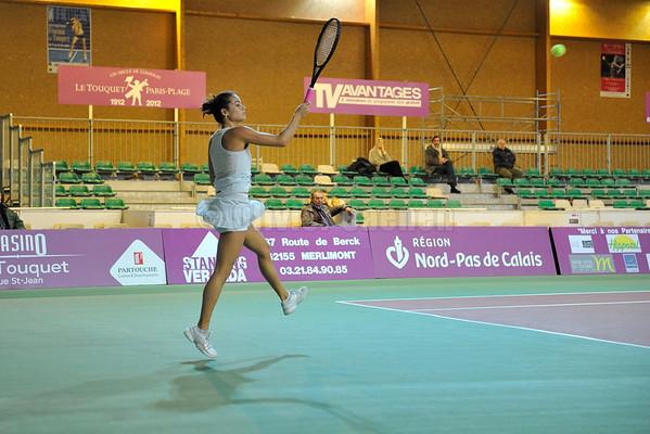 Open feminin de Tennis du Touquet 2011-Quart de Finales