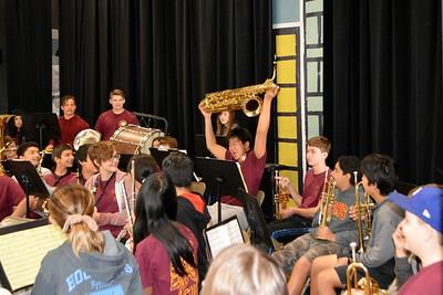 LCHS 7/8 Music Students Tour Schools