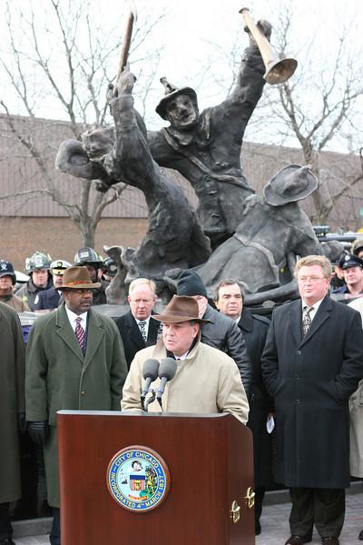 Stockyard Memorial Dedication 12-22-04