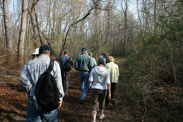Wildflowers, Native Plants, Invasives Field Trip, Class of 2010, 3-Apr-2010