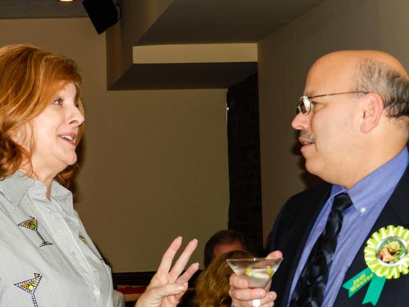 Susan & Phil (Both have martinis)