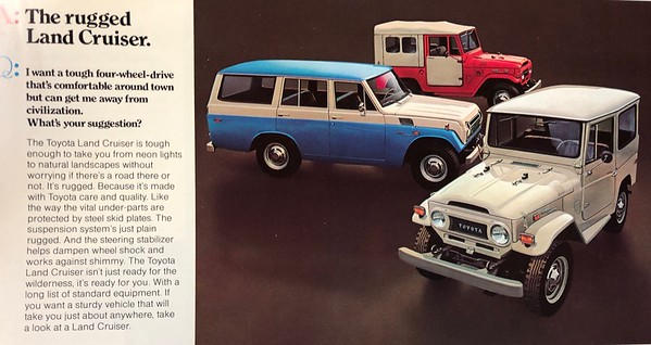 Toyota Literature Pics
