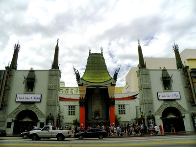 Grauman's (never TCL!) Chinese Theatre