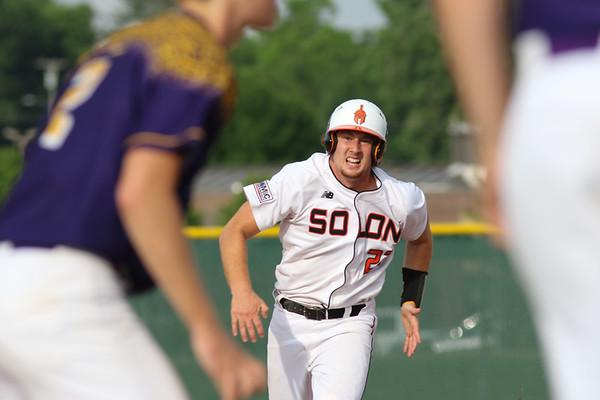 Central DeWitt at Solon Baseball