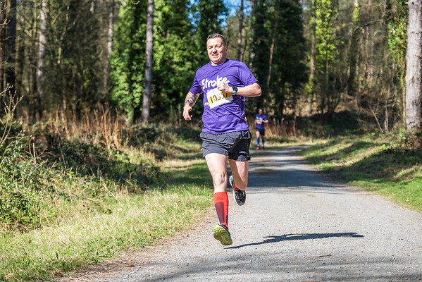Resolution Run Anglesey - 10K Runners Lap 1 at 2.3kM