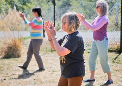Photos: Tai Chi at the Eureka Community Health & Wellness Center