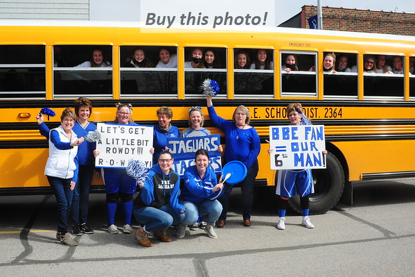 Girls'BBall send-off to STATE! 03-30