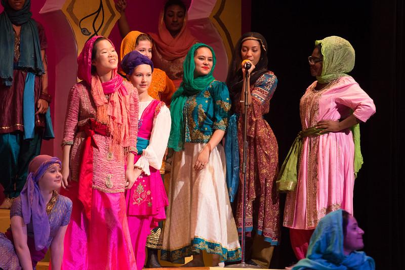 """Rahadlakum"" -- Kismet, Montgomery Blair High School spring musical, April 15, 2016 performance (Silver Spring, MD)"