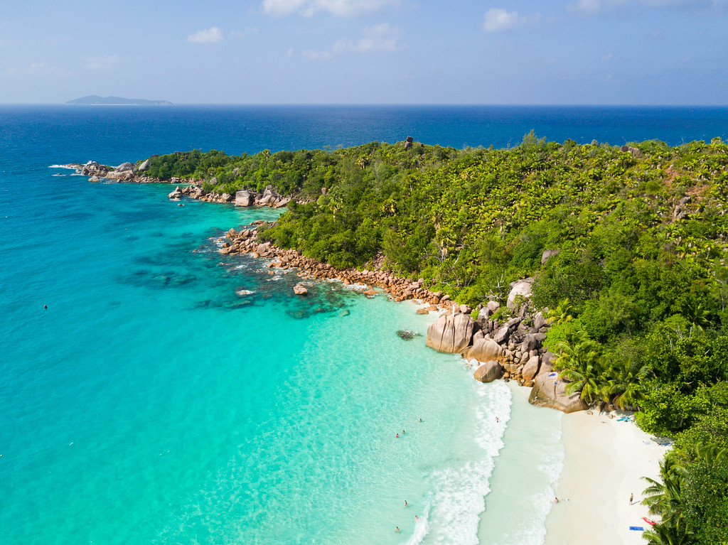 Anse Lazio Beach on Praslin Island in the Seychelles