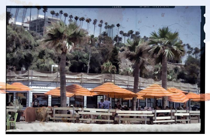 July 11 - Back on the Beach, Santa Monica, through a dirty lens.jpg