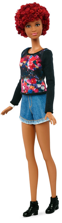 . This photo provided by Mattel shows a new, tall Barbie Fashionista doll introduced in January 2016. Mattel, the maker of the famous plastic doll, said it will start selling Barbie�s in three new body types: tall, curvy and petite. She�ll also come in seven skin tones, 22 eye colors and 24 hairstyles. (Mattel via AP)