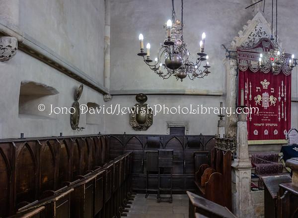 CZECH REPUBLIC, Prague. Old-New Synagogue (Altneuschul) (3.2019)