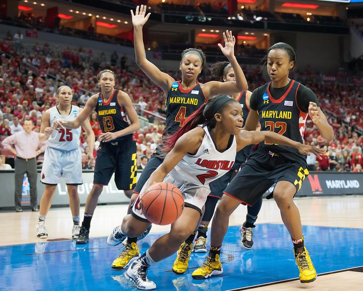 2014 NCAA ELITE EIGHT VS. MARYLAND
