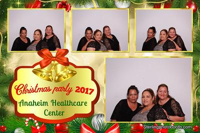 Christmas Party 2017 Anaheim Health Care Center
