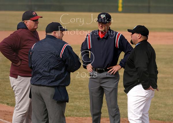 MRHS vs Cherokee Trail Jr. Varsity Baseball 04-01-08