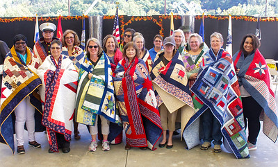 Veterans Honoring at Cherokee Indian Fair 10-6-17