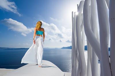 Oia Santorini island Cyclades