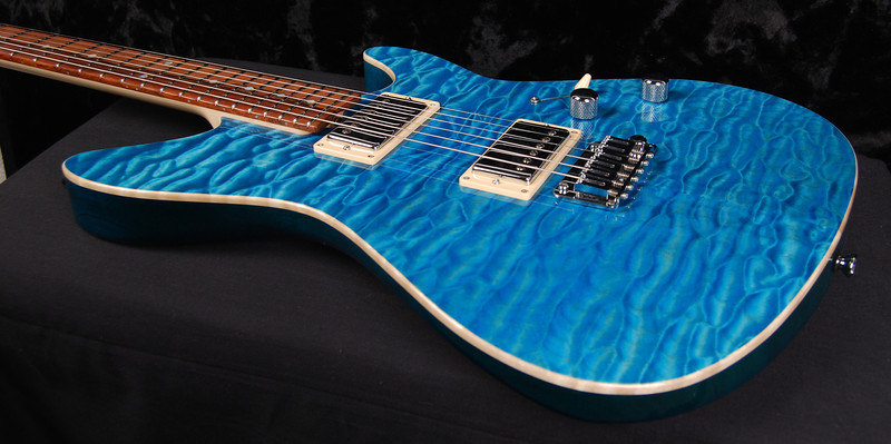 TurboJet, Aqua Blue, HH Pickups