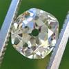 1.00ct Antique Cushion Cut Diamond GIA L VS1 24