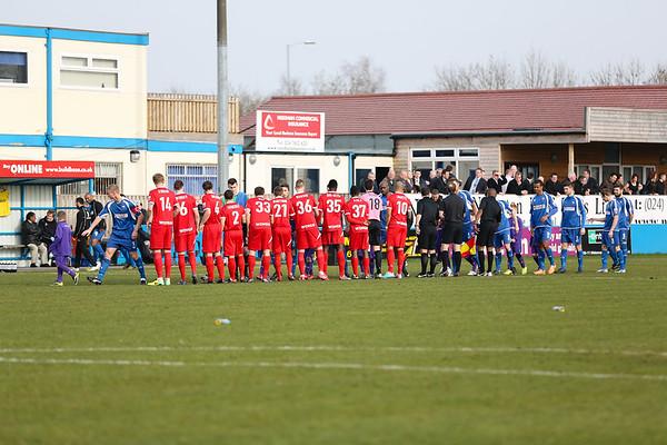 Nuneaton 2 - 0 Welling March 2014