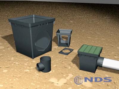 Catch Basin - 3D Renders