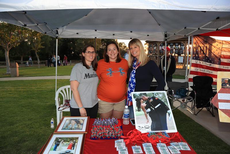 Marine Wives at Team Darkhorse Concert Laguna Hills