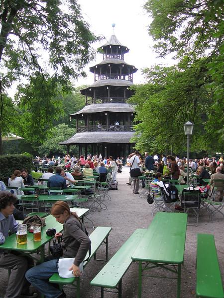 Munich Beer Garten