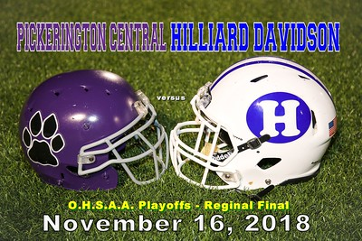 2018 Pickerington Central versus Hilliard Davidson O.H.S.A.A. (11-16-18)