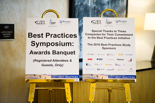 Best Practices Symposium Banquet with Reagan Consulting