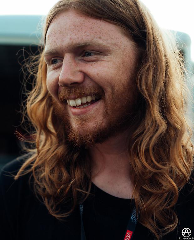 Joshua Halling at Vans Warped Tour 2015 by Adam Elmakias