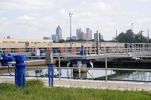 Morris could test a hydropower turbine at Hemphill Water Treatment Plant. Photo credit Joann Vitelli, Atlanta Business Journal 9/12/2014