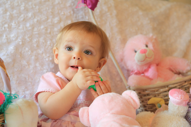 Baby - Easter Photo shoot.