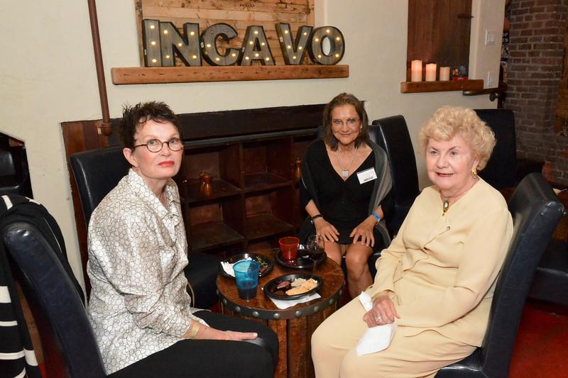 Lila Friday, Christine Cohen and Joann Dunn
