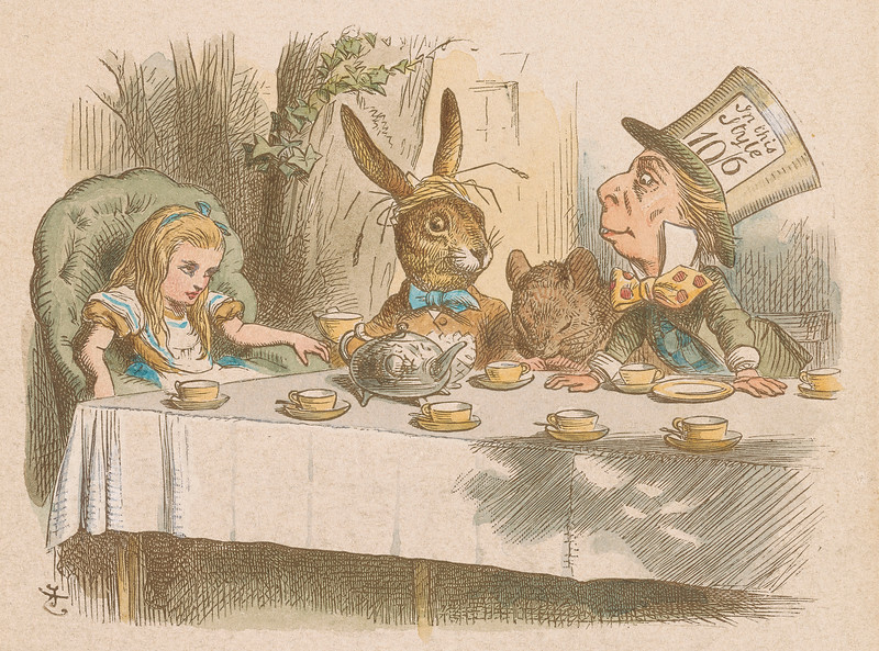 Tenniel, John, 1820-1914. Mad Tea Party [print]. 19th century, 1 print, 2005.198