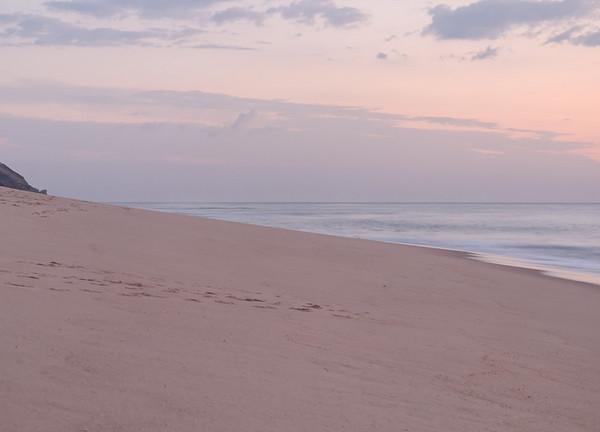 Praia de Quiaios à noite