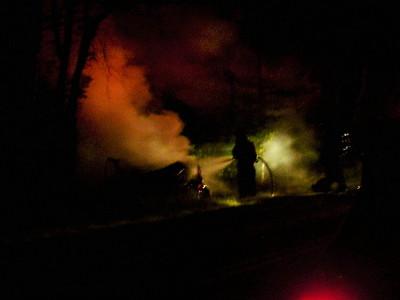 Luzerne County - Hazle Twp. - MVA w/ Fire - 8/14/2006