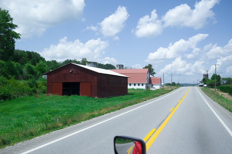 Eastern WV, US-35 Barn