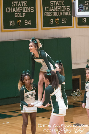 1/10/2018 Damascus HS Varsity Cheerleading, Photos by Jeffrey Vogt Photography