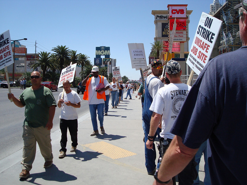 Construction Worker Strike