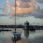 Sailboat on a Mooring