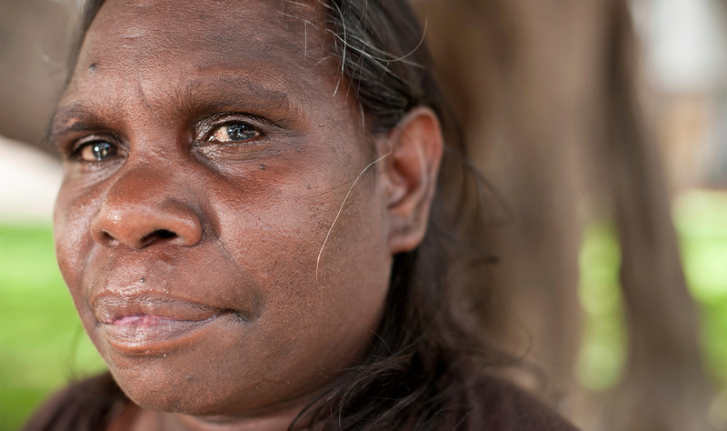 Indigenous Australian Woman